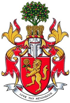 Armoiries de Gary Cecil Freer Family Crest Symbols, Family Shield, Coat Of Arms, Antlers, Seals, Runes, Knights, Genealogy, Bowser