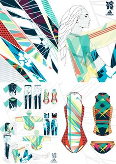 # In the last 30 years, the evolution of fashion Flat Sketches, Evolution Of Fashion, Portfolio Design, Portfolio Layout, Textiles, Sport Fashion, Fitness Fashion, Kids Sports, Sport Wear