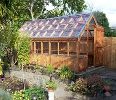 sheds | Found on greenhousesbychad.com