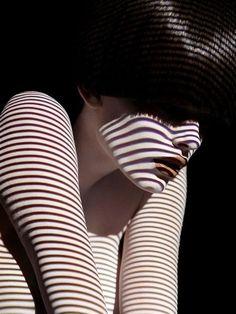 striped skin