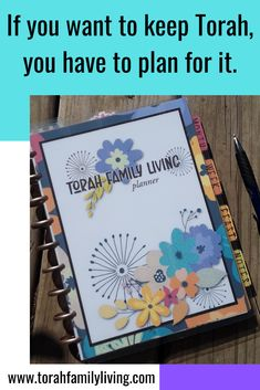 The Torah Family Living planner helps you plan to keep Torah, and all the other life things, too. handmade, laminated, ready to use Bible Crafts For Kids, Organizing, Organization, Prioritize, Torah, Learn To Love, Homeschool, Spiritual, Journey