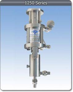 CheckPoint Series 1250 pneumatic pump.