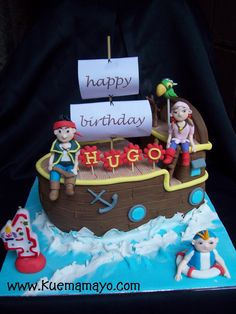 Image Detail for - jake in the neverland pirates cake-Hugo | Mamayo
