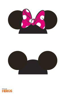 DIY : Les petits sachets surprises de Mickey et Minnie Minnie Mouse Birthday Theme, Theme Mickey, Minnie Mouse Baby Shower, Minnie Mouse Pink, Decoration Minnie, Minnie Mouse Party Decorations, Mouse Parties, Disney Bows, Disney Diy