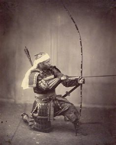 Amazing photography from the 1860s shows us some of Japan's very last samurai