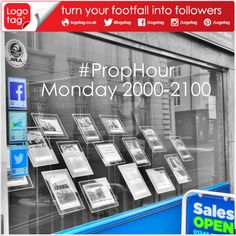 We're now proudly sponsoring #PropHour every Monday 2000-2100 BST on Twitter. If you are in the industry pop over and say Hi..