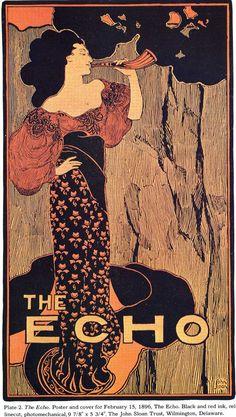 The Echo, John Sloan, 1896