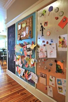 Kids playroom is often fused with kids room to ease parents to supervise their kids. Therefore you need to kids playroom decor appropriate to the age their growth Large Scale Art, Large Art, Magnetic Wall, Magnetic Boards, Large Magnetic Board, Magnetic Chalkboard Paint, Large Cork Board, Magnetic Calendar, Magnetic Letters