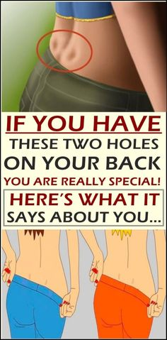 See What The Two Holes On Your Back Says About You! @twoholesonyourback