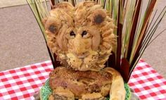 """Paul's bread lion and the best Bake Off showstoppers"" -- Click through to see more details of this amazing bread!"