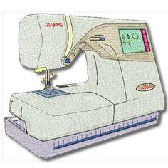 Janome Embroidery Design