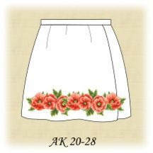 Заготовка к юбке детской АК 20-28