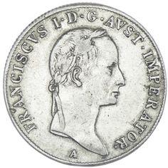 20 Kreuzer 1831 A anliegende Bänder
