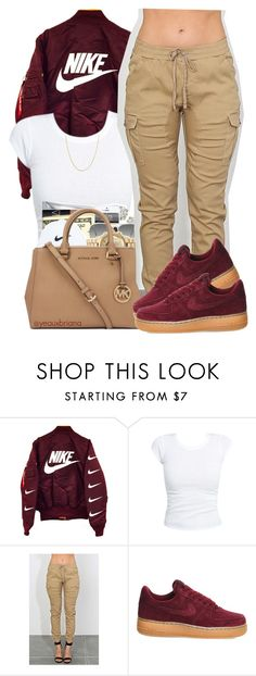 """""""3/10/2016"""" by yeauxbriana ❤ liked on Polyvore featuring Ray-Ban, NIKE and Fremada"""