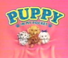 puppy in my pocket! i used to be obsessed with this when i was little. You would get a candy bone in the bag with your little pup! i had soo many.