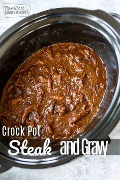 Crockpot Steak Recipes, Sirloin Steak Recipes, Crockpot Dishes, Beef Dishes, Slow Cooker Recipes, Cooking Recipes, Cooking Pasta, Freezer Recipes, Game Recipes