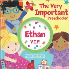 They can be the V.I.P. of their own story! Make reading fun for everyone. Available at Aimee J Keepsakes.
