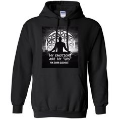 """Customized Spiritual Inspirational Affirmations Pullover Hoodie """"My Inspiration. . ."""""""