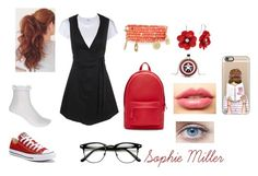"""Uniforme / Sophie Miller"" by belivzjb on Polyvore featuring moda, River Island, Converse, PB 0110, Emily & Ashley, Reactor, LASplash, RE/DONE e Casetify"