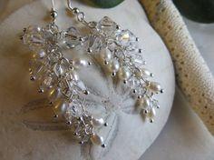 Orecchini di perle orecchini portafortuna del mese di Inspiredby10
