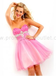 pink cute sweet sixteen dresses,sweet sixteen dresses - Prom Gowns Outlet