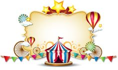 Carnival Themed Party, Carnival Birthday Parties, Carnival Themes, Circus Birthday, Circus Theme, Circus Party, Birthday Party Themes, Decoration Cirque, Circus Decorations