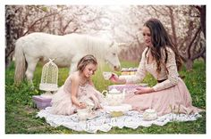 Our mommy and me fairy tale photo shoot photograph by kristalpricephotography