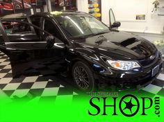 Subaru Legacy black color with black windows.. Does it get any better then that? Love subaru...