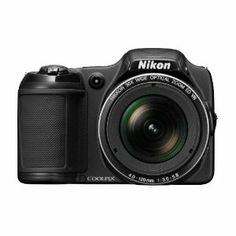Nikon COOLPIX L820 16 MP Digital Camera with 30x Zoom (Black)