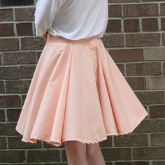 A quick DIY on how to make the perfect circle skirt. You'll want one in every color!