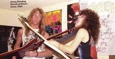 James Hetfield, Dimebag Darrell Abbott, Lars Ulrich and Rex Brown. Dimebag's house. Rock And Roll Bands, Rock N Roll, Metallica Funny, Heavy Metal Fashion, Dimebag Darrell, Bob Seger, James Hetfield, Concert Photography, Music Icon