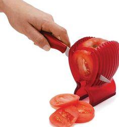 Gadgets de cocina.   ¡Para hacer rodajas igualitas entre sí!