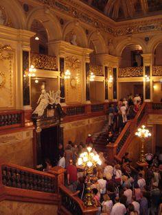 Opera House in Lviv, Unesco  Heritage. Ukraine