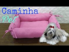 Pet Shop, Dog Bed, Pillows, Sewing, Diy, Scrap, Youtube, Dog Outfits, Easy Kids Crafts