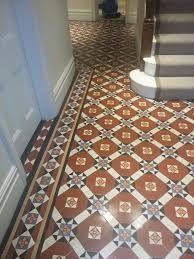 victorian tiles - Google Search Victorian Tiles, Victorian Bathroom, Victorian Design, Entrance Hall, Entrance Ideas, Front Entrances, Tile Floor, New Homes, Stairs
