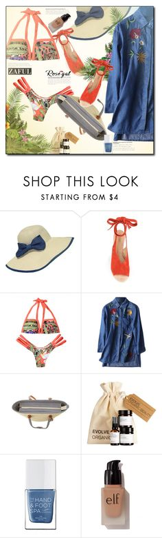 """""""NEW CONTEST! ZAFUL clearance sale- 2 winners will win $20"""" by anturium ❤ liked on Polyvore featuring WithChic, Derek Lam, The Hand & Foot Spa, e.l.f., Summer and zaful"""