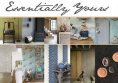 Behang / Wallpaper Essentially Yours