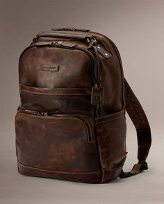 30da5d64e8b Logan Back Pack - Men s Leather Bags