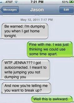 Text Message Awkward #jokes #pic