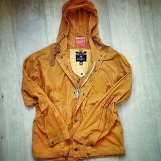 Nigel Cabourn Orange Flight Jacket