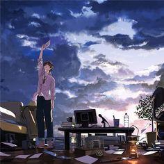 images for illustration anime art Manga Art, Manga Anime, Anime Art, Otaku, Another Anime, Manga Illustration, Anime Scenery, Anime Guys, Anime Characters