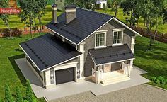 Farmhouse Plans, Home Design Plans, Houzz, Sweet Home, Shed, Home And Garden, Construction, House Design, Outdoor Structures