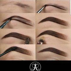 hair makeup Make Up; Make Up Looks; Make Up Augen; Make Up Prom;Make Up Face; Eyebrow Makeup Tips, Skin Makeup, Eyeshadow Makeup, Makeup Eyebrows, Shape Eyebrows, Makeup Hacks, Eye Brows, Filling In Eyebrows, Good Eyebrows