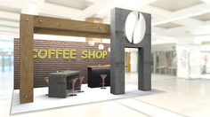 Coffee Shop stand-2017
