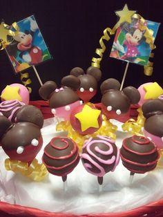 Mickey & Minnie Mouse Birthday Pops