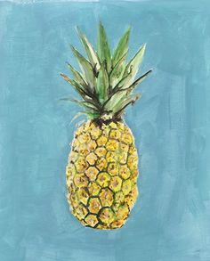 Pineapple Print from Pen and Palate