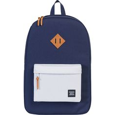 Herschel Supply Co. Heritage Laptop Backpack- Discontinued Colors ($40) ❤ liked on Polyvore featuring accessories, tech accessories, blue, blue laptop case and laptop cases