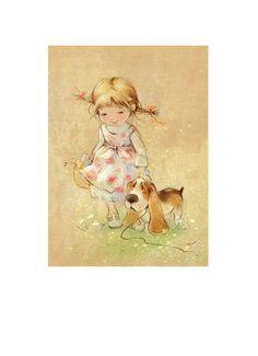 Просмотреть иллюстрацию собачка из сообщества русскоязычных художников автора Екатерина Бабок в стилях: Классика, нарисованная техниками: Другое.