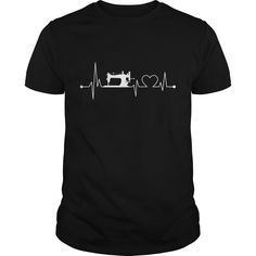 Heartbeat Embroidery : shirt quotesd, shirts with sayings, shirt diy, gift shirt ideas  #hoodie #ideas #image #photo #shirt #tshirt #sweatshirt #tee #gift #perfectgift #birthday #Christmas