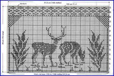 Cross Stitch Tree, Cross Stitch Borders, Cross Stitch Animals, Cross Stitch Charts, Cross Stitching, Cross Stitch Embroidery, Cross Stitch Patterns, Crochet Applique Patterns Free, Filet Crochet Charts